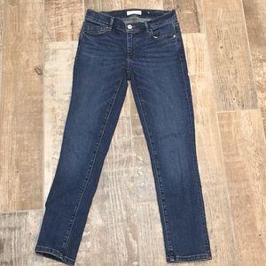 Ann Taylor Loft Skinny Crop Jeans Size 26/2 EUC